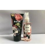 Set BATH & BODY WORKS ROSE Fragrance Mist and Body Cream TRAVEL SIZE - $69.74