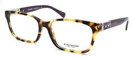 COACH HC6062 5273 Darcy Women's Eyeglasses Frames Spotty Tortoise / Purple - $59.30