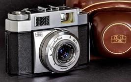 Zeiss Ikon Symbolica w 45mm f/2.8 Carl Zeiss Tessar Lens 35mm Camera CZ ... - $149.00