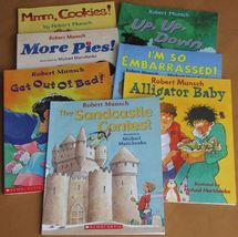 Kids Robert Munsch Sandcastle Alligator Baby More Pies Cookies Lot of 7 ... - $11.93
