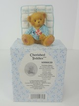 Cherished Teddies CHRISTMAS WISHES TO A SWEET LITTLE ONE 2006 AVON EXCLU... - $9.97