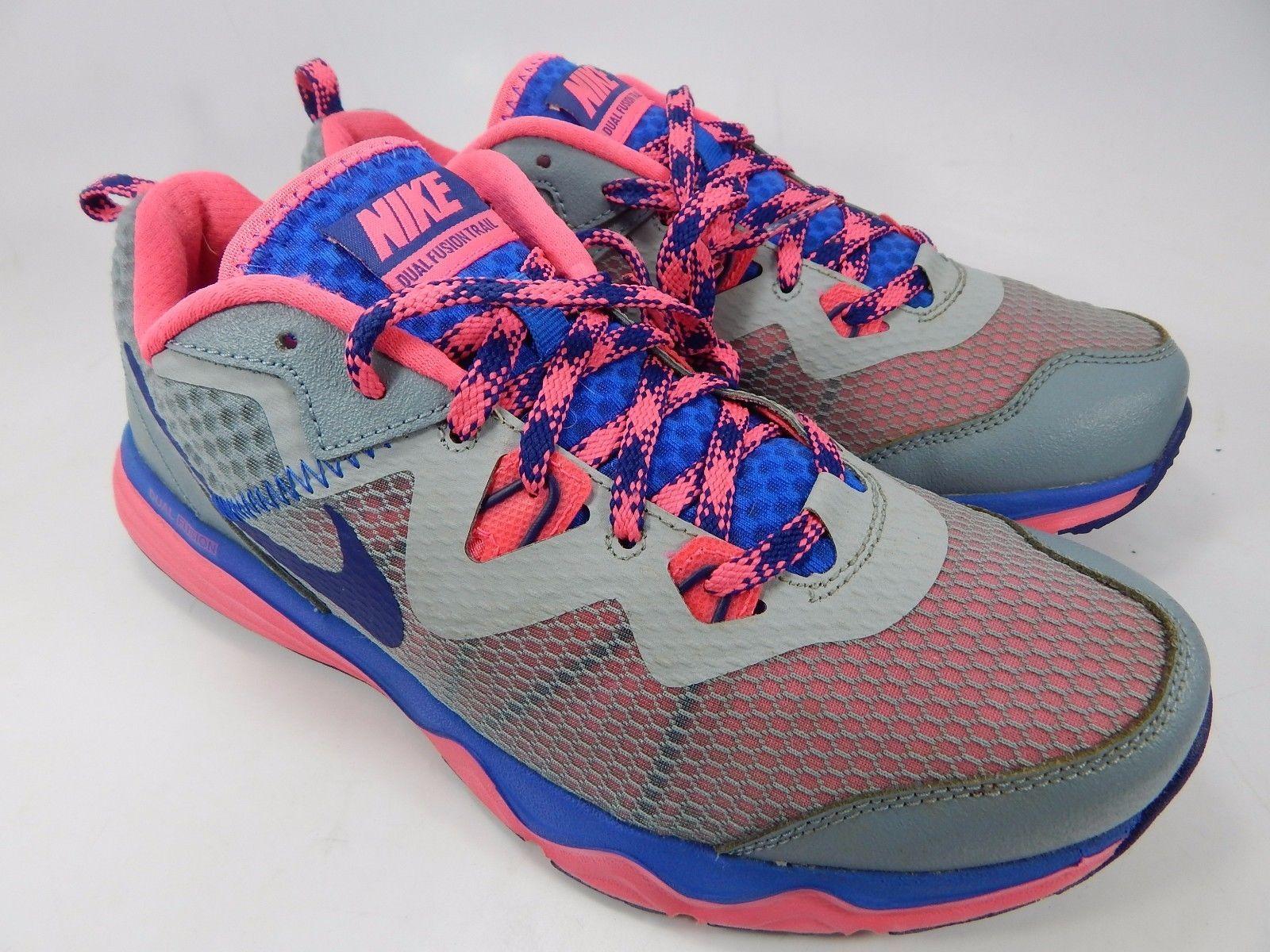Nike Dual Fusion Trail Women's Running Shoes Size US 9.5 M (B) EU 41 652869-004