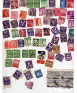 U. S. Stamps  (Lot of 70 Stamps) - $1.75