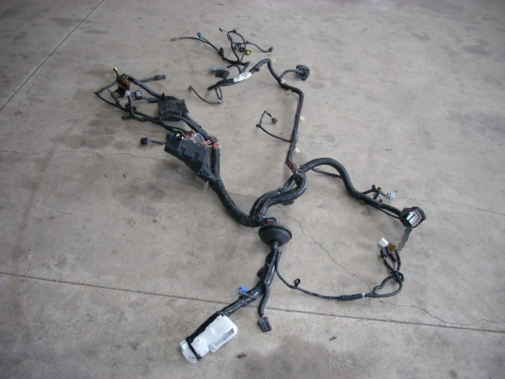 2015 NISSAN SENTRA BODY WIRING HARNESS UNDER HOOD TO HEAD LAMPS 24012-3SG0D