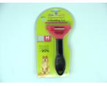 Furminator DeShedding Tool Medium Dog 21-50 lbs - Long Hair - Pink