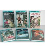 Hardy Boys 6 books Mystery Airport Secret Warning Panel Glossy Flashligh... - $14.93