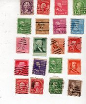 U. S. Stamps  (Lot of 20 President Stamps) - $2.50