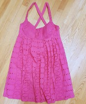 INC INTERNATIONAL CONCEPTS Size 12 Pink Eyelet Racerback Strappy Empire ... - $64.94