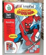 LeapPad Amazing Spiderman 1st Grade Reading NIB - $12.99