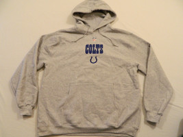 T M108 New Men's Reebok Indianapolis Colts Hooded Hoodie Sweatshirt Jack... - €20,13 EUR