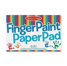 """Melissa & Doug Finger Paint Paper Pad (12""""x18"""") - $9.85"""