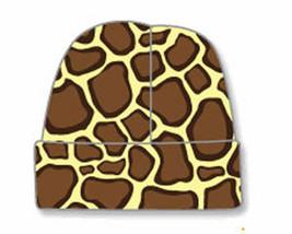 Newborn Giraffe Baby Beanie Hat Size 8-13 Pounds - $8.00
