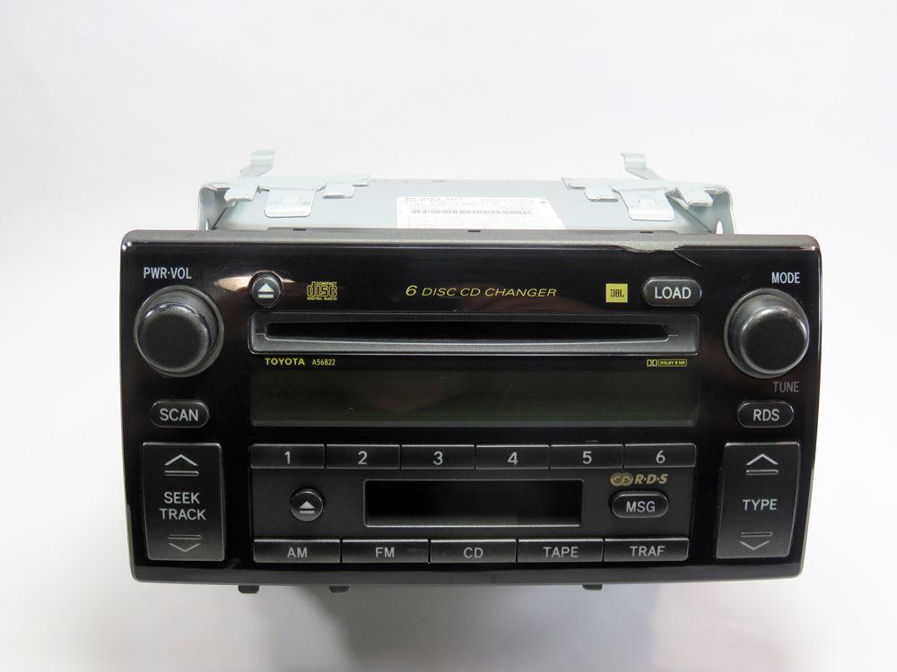 2002 2004 toyota camry se jbl rds radio tape and 6 cd. Black Bedroom Furniture Sets. Home Design Ideas