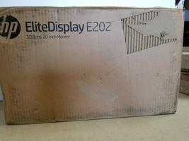 """HP EliteDisplay E202 20"""" LCD Monitor  - $80.74"""