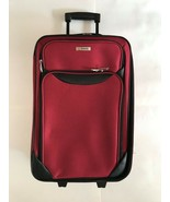 """* NEW * Tag Springfield III 20"""" Luggage Red Lightweight Suitcase Carry-On - $37.39"""
