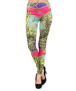 Mercury with Straps and Safari Printed Seamless Fashion Leggings - $13.99