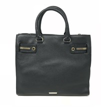 Rebecca Minkoff HF26IPBS44 Geneva Grained Cowhide Black Women's Bag