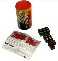 Zombie Dice Game - Easy To Play - Walking Dead Fan Stocking Stuffer! - $12.94