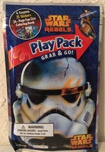 Disney Star Wars Rebels Grab & Go Play Pack - Crayons, Stickers, Activit... - $3.94