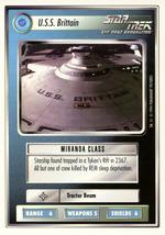 Star Trek CCG - U.S.S. Brittain - $0.75