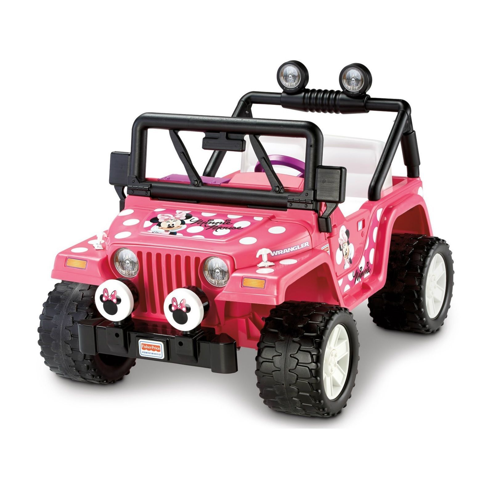 Power Wheels Jeep Kids Car Electric Ride 12 Volt Battery
