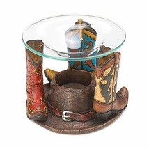 Eastwind Gifts 10016204 Cowboy Boots Oil Warmer - $24.65