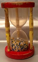Playskool Sands Of Time Hourglass Vintage Toy - Great Decor Or Collection Piece - $7.94