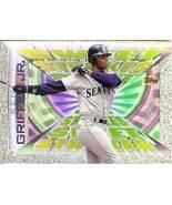 1996 topps ken griffey jr sweet stroks seattle mariners baseball card rare - $2.50