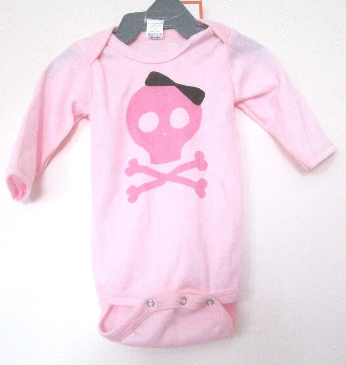 baby halloween costume infant girl clothes pink skull one