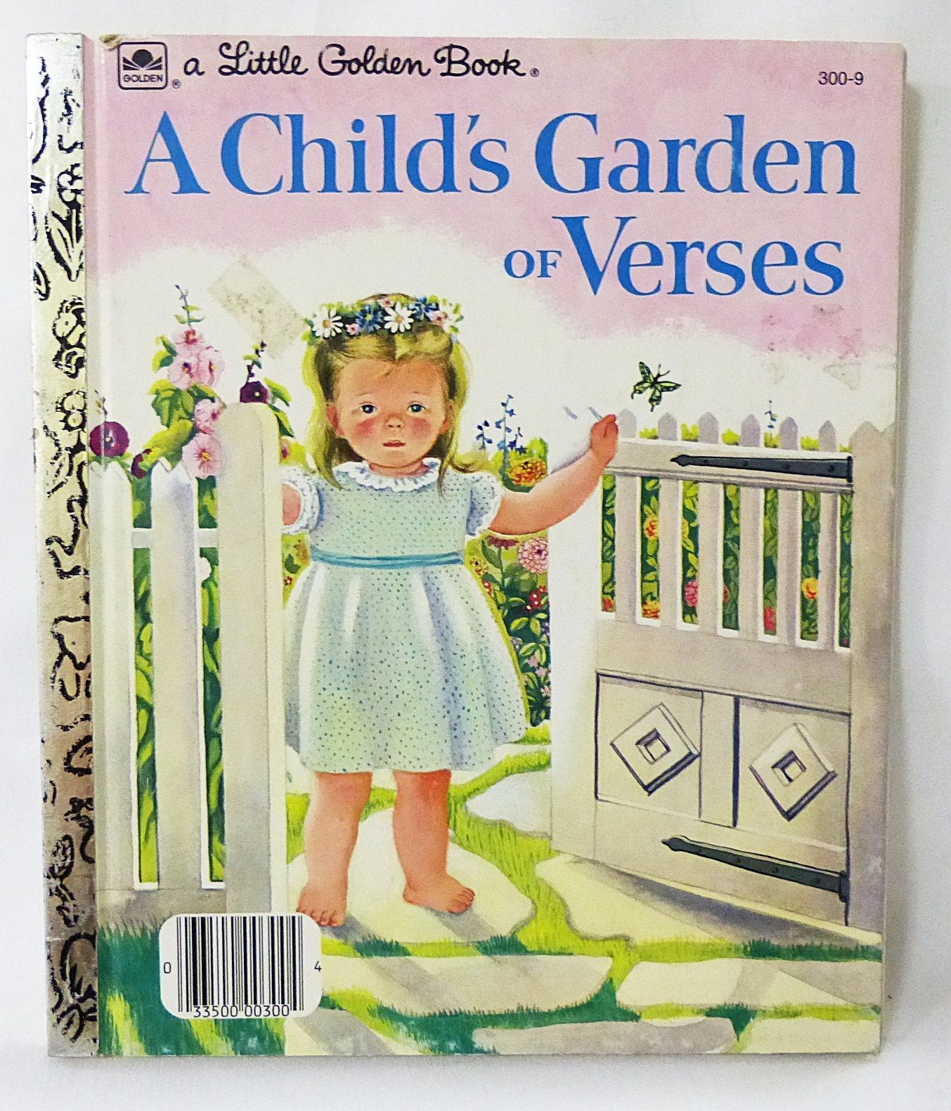 Primary image for little golden book a child's garden of verses 1957 hardcover Nursery Rhymes
