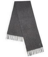 YSL Designer Cashmere Blend Logo Scarf Gray $295 - $173.25