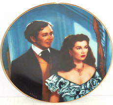 Gone with the Wind Collectors Plate The Smitten Suitor Bradford Exchange... - $59.95