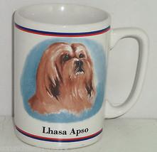 Lhasa Apso Coffee Mug Dog Cup R Maystead - $34.95