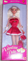 Barbie Doll 1997 Valentine Date Special Edition NRFB Vintage  - $59.95