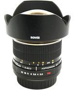 Bower 14mm f/2.8 Super Wide Angle Lens for Canon EOS Digital SLR Camera - $419.99