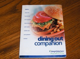 Weight Watchers Dining Out Companion & 2 Complete Food Companions Book Lot - $19.97