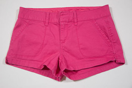 Arizona New Juniors Size 7 Shorts Pink Spring Summer Cotton & Spandex - $8.41