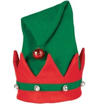 "Felt Elf Hat 15"" x 11"" with Jingle Bells - €7,70 EUR"