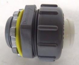 Diversitech Non-metallic Liquid-Tight Straight Connector, 3/4 Inch - $0.98