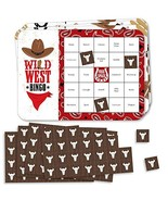 Big Dot of Happiness Western Hoedown - Bar Bingo Cards and Markers - Wil... - $20.39