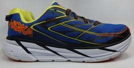 Hoka One One Clifton 3 Men's Running Shoes Size US 12.5 M (D) EU 47 1/3 Blue