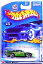 Hot Wheels - 24/Seven: 2003 First Editions #12/42 - Collector #024 *Green* - $6.49