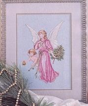 Cross Stitch Afghan Angel Clock Rug Christmas Ornaments Love Of Magazine Ju '89 - $6.98