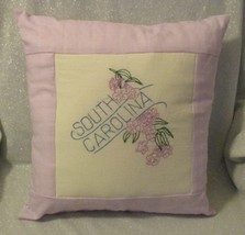 "South Carolina State Flower Throw Pillow - 16"" - $16.00"