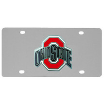 ohio state buckeyes college football steel car tag license plate  - $37.99