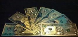 <Mint Striking Banknote Set>$1-$2-$5-$10-$20-$50-$100 W/COA~FREE Fast S&H - $25.27