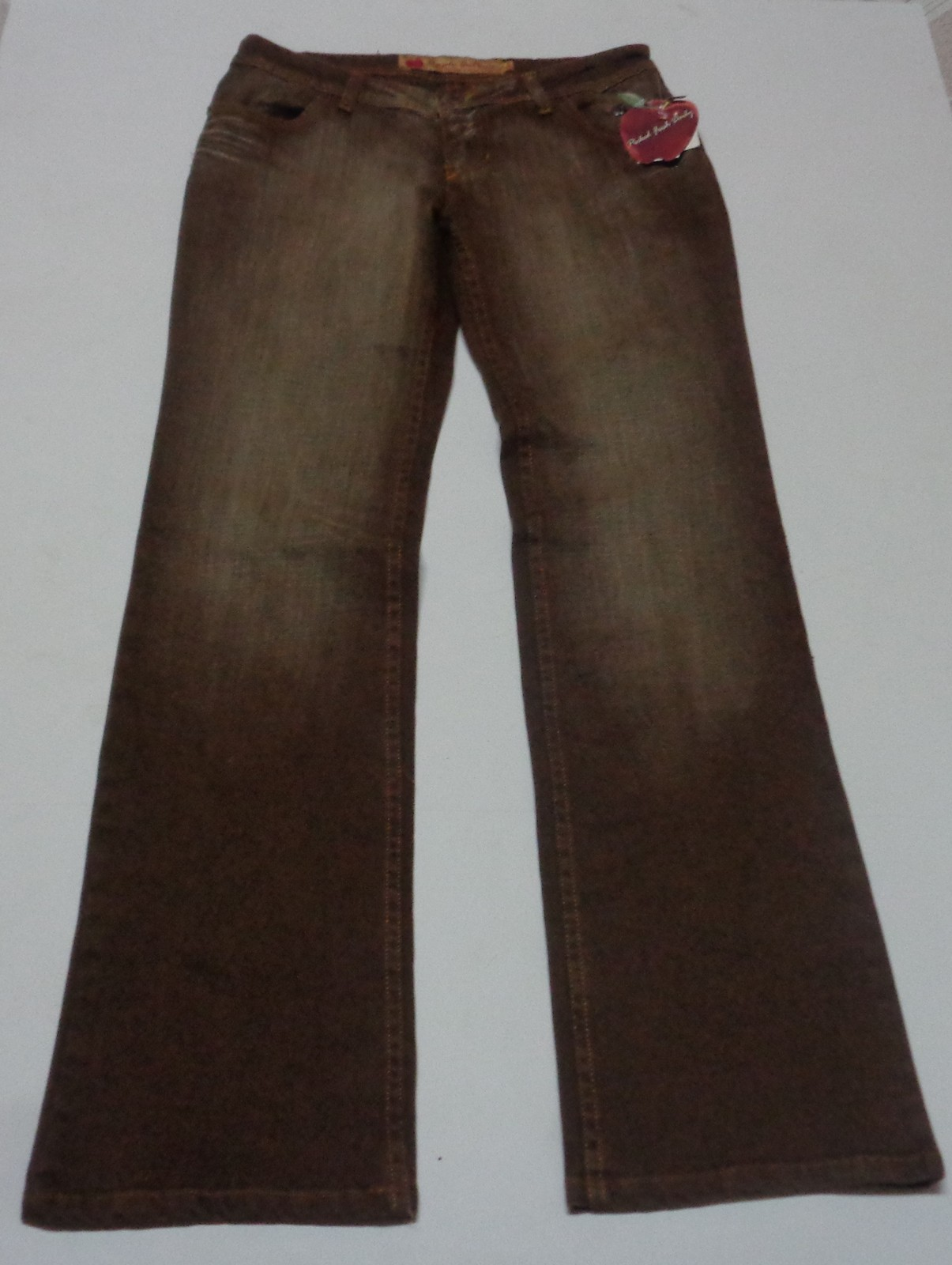 Apple Bottoms Brown Jeans NWT Size 9/10