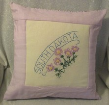 "South Dakota State Flower Throw Pillow - 16"" - $16.00"