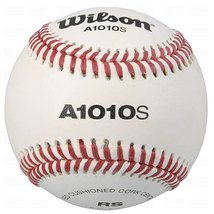 12 Baseballs Wilson Official High School Leather Blem Great Practice Har... - $51.85