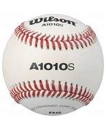 12 Baseballs Wilson Official High School Leather Blem Great Practice Har... - $56.85